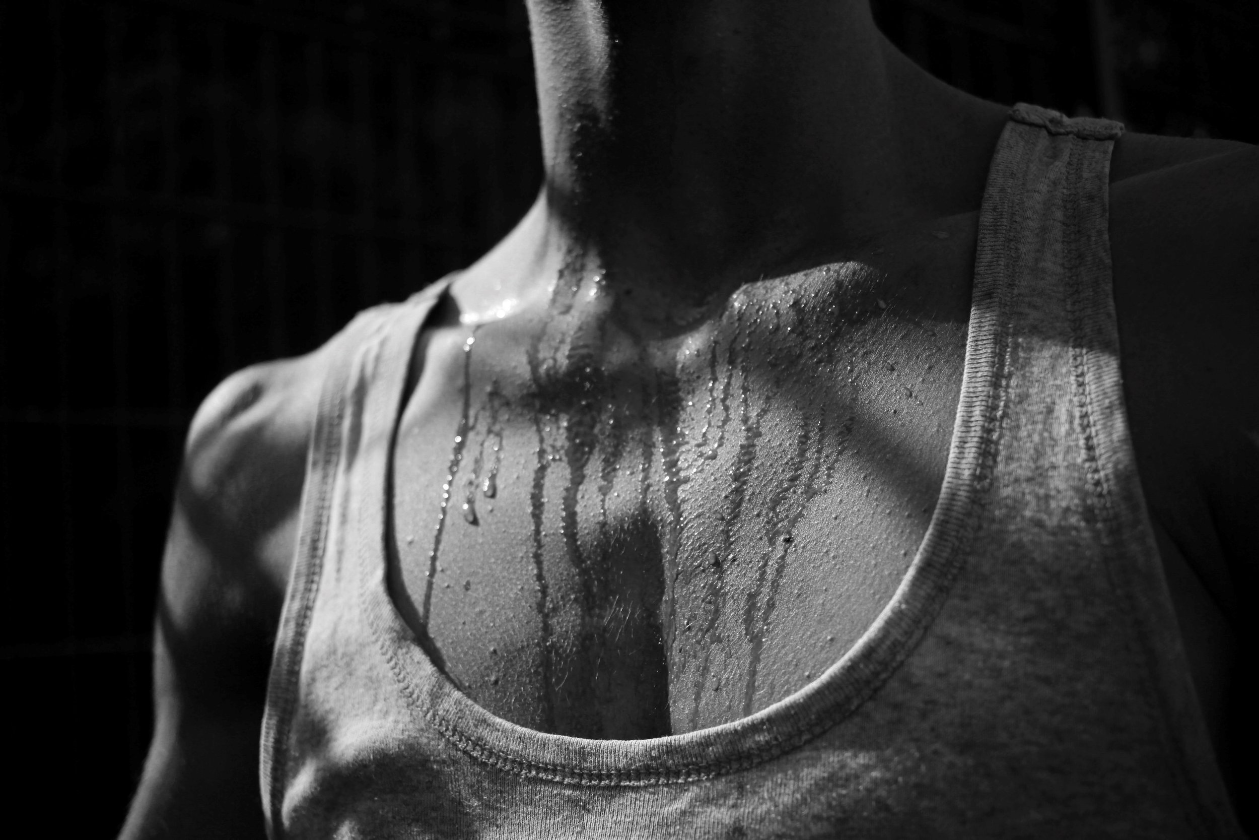 Sweat is a filtrate of blood, hence fluid and electrolytes lost must be replaced.