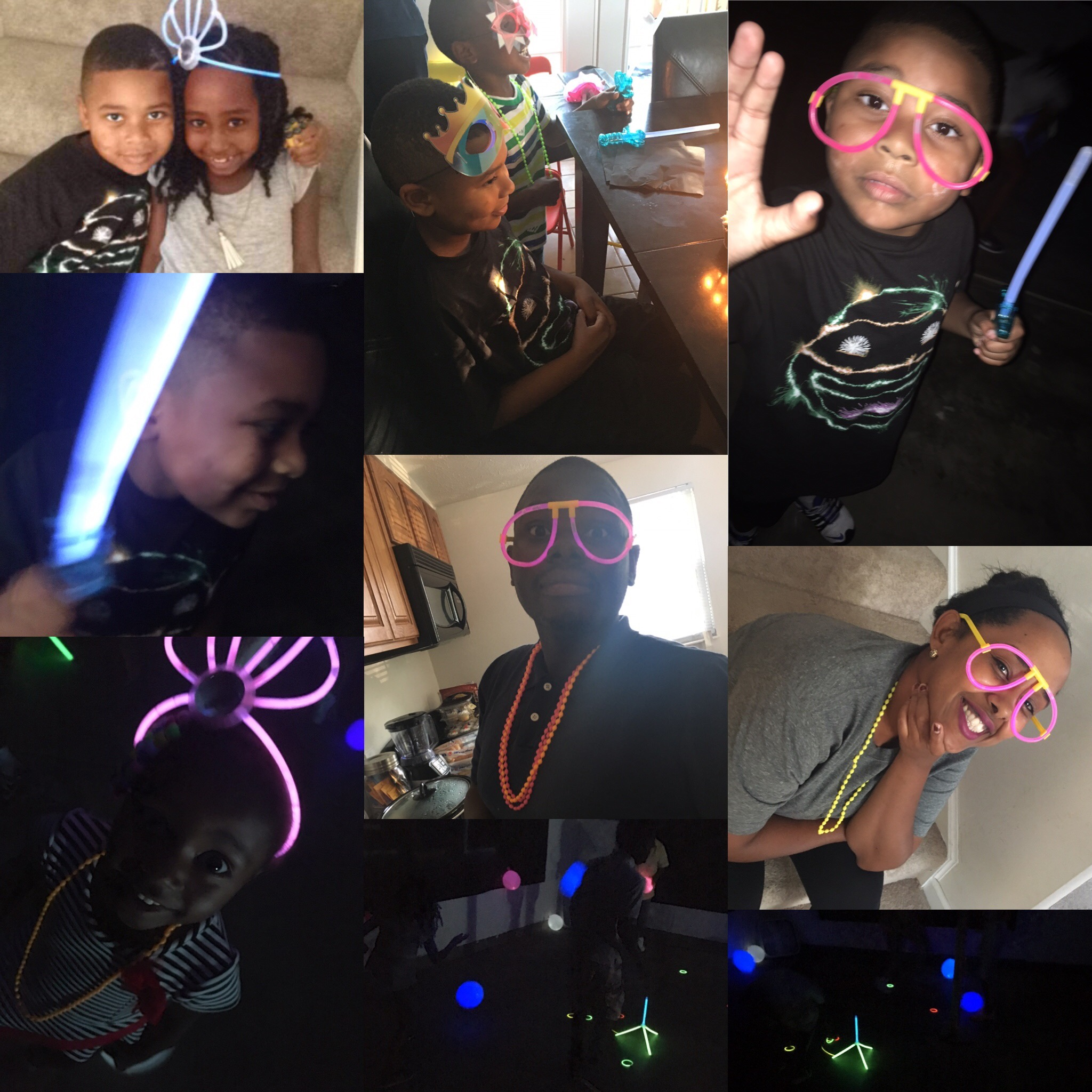 CARDELL'S GLOW IN THE DARK PARTY
