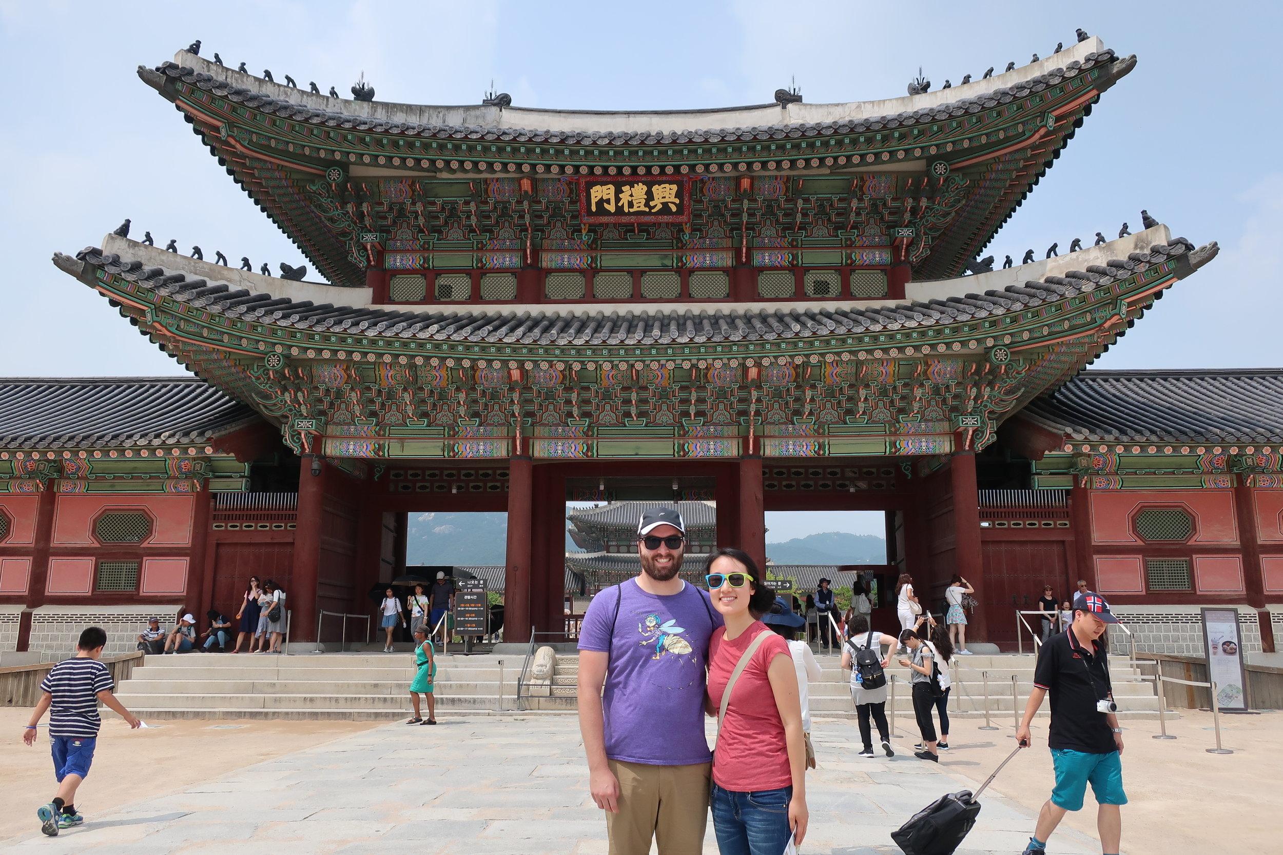Seoul Gyeongbokgung (Palace)
