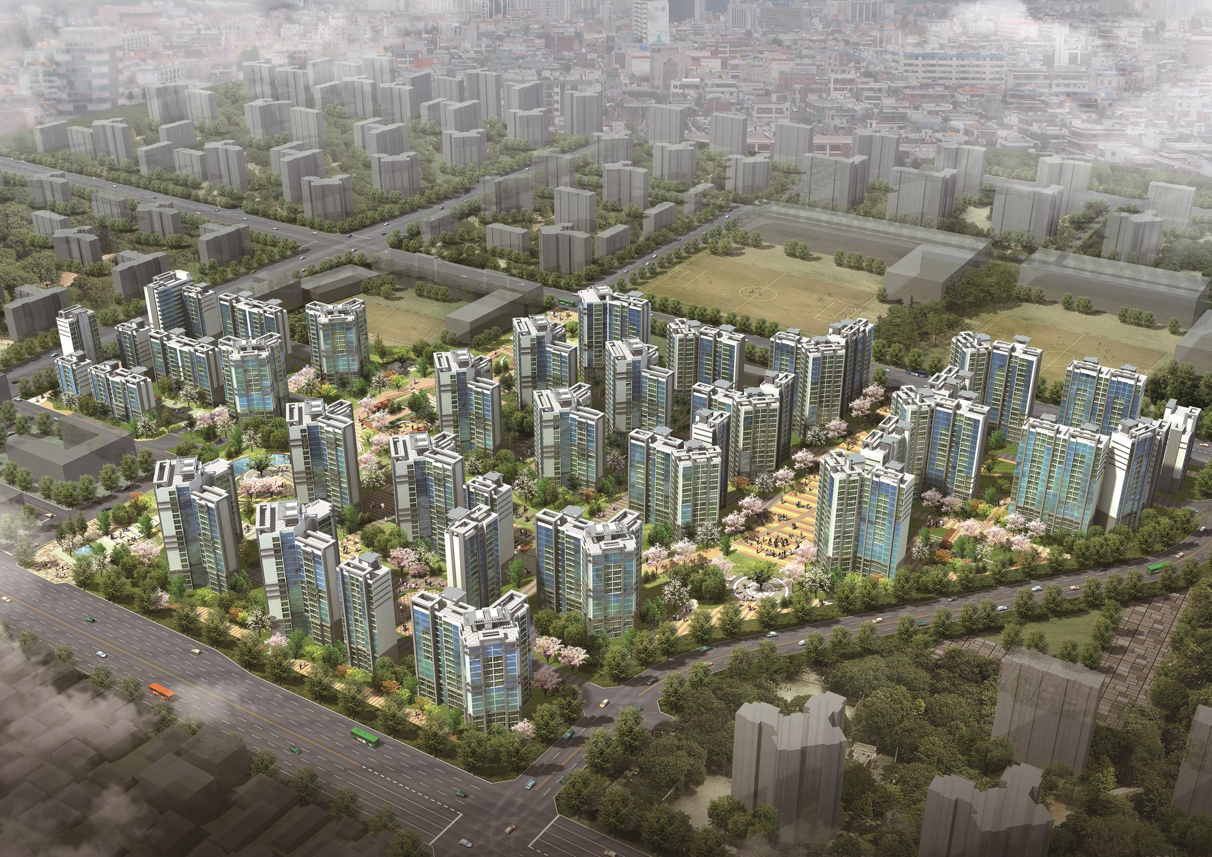 의정부시 가능 뉴타운 8구역 주택 재개발 정비사업(2011)