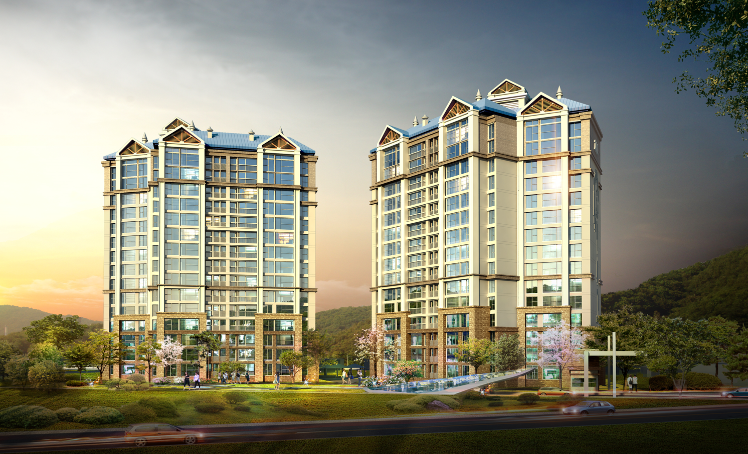 정선군 신동 아파트 설계공모(2013)