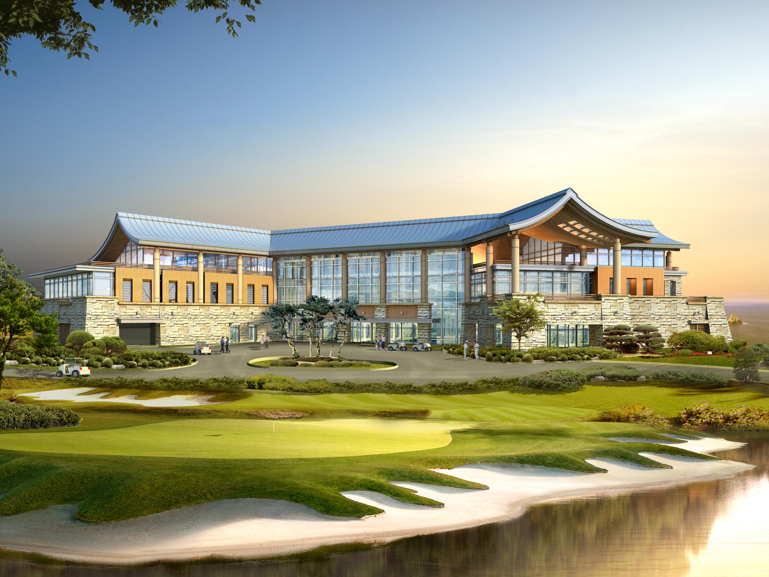 여수 경도 골프 클럽하우스(2011)