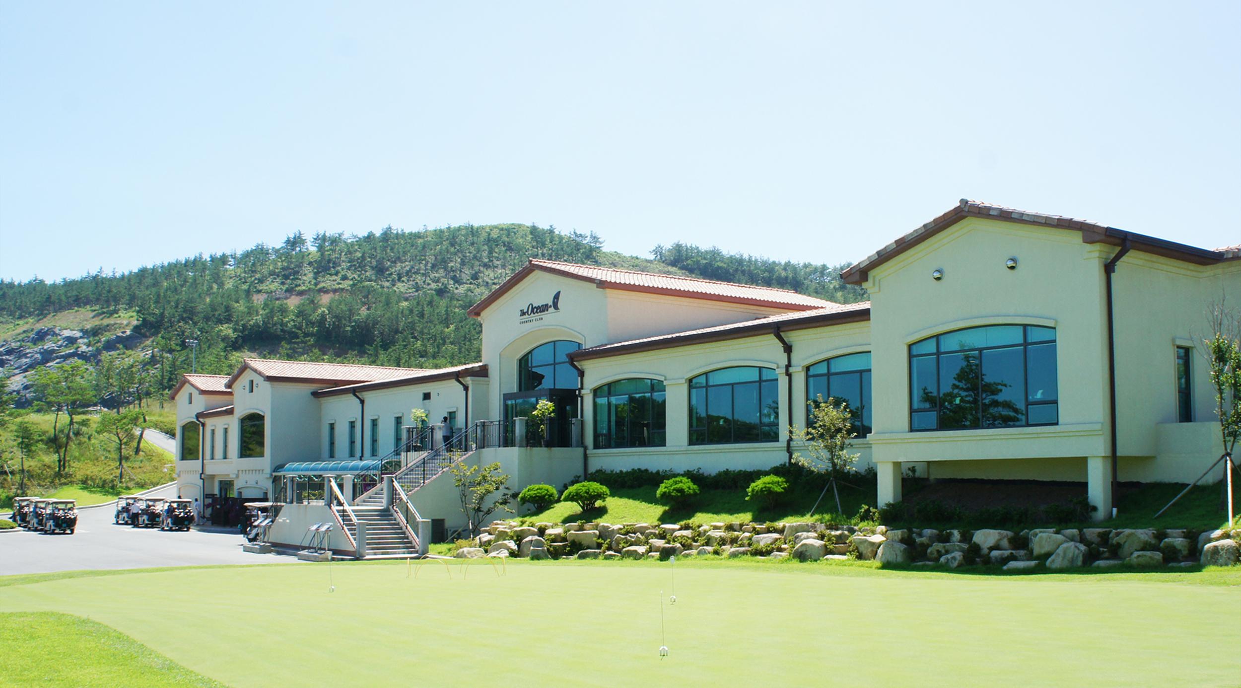 여수 디오션 클럽하우스(여수 화양지구 골프아일랜드존 클럽하우스 2008)