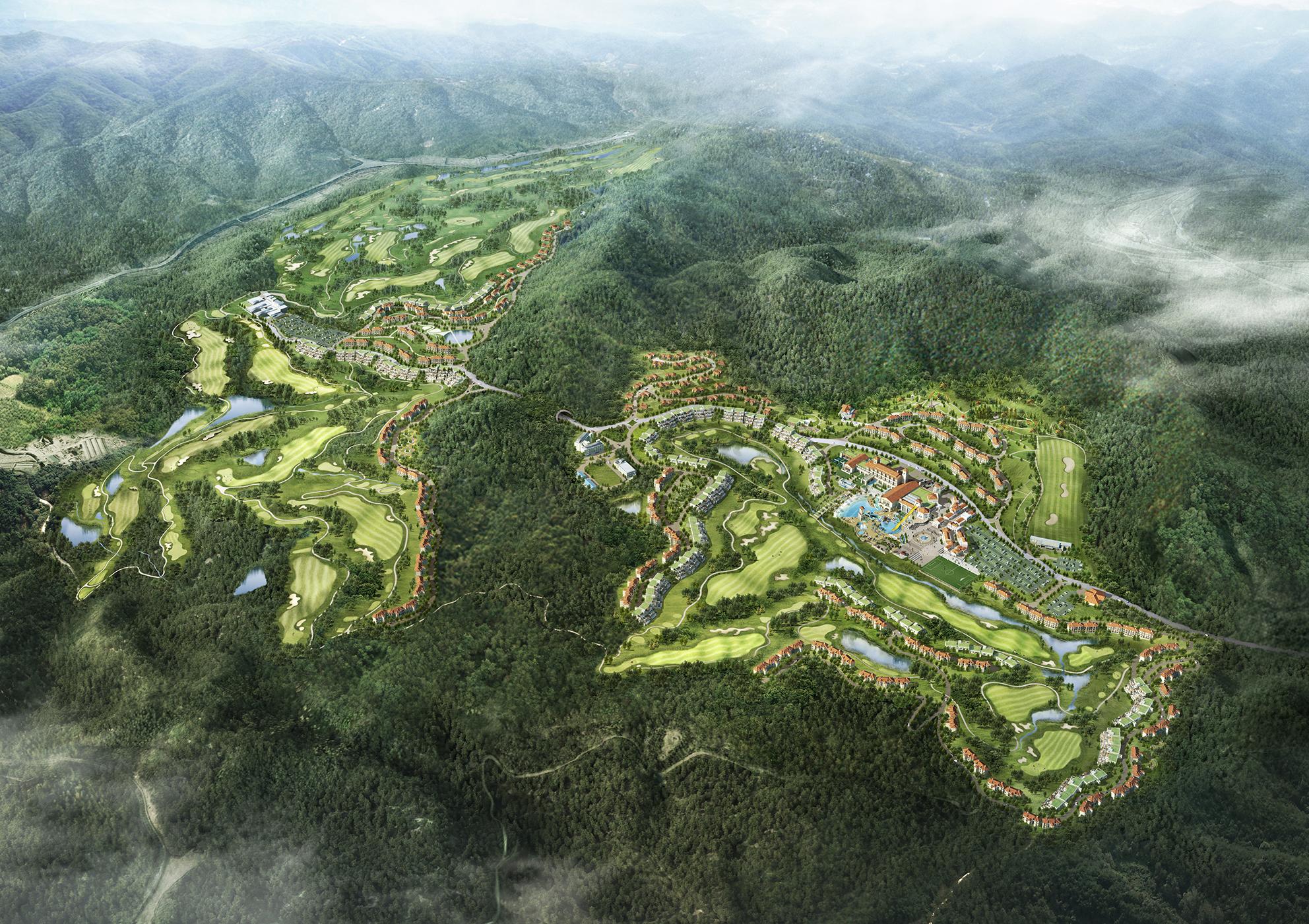 한원 남춘천 관광단지 마스터플랜(2012)