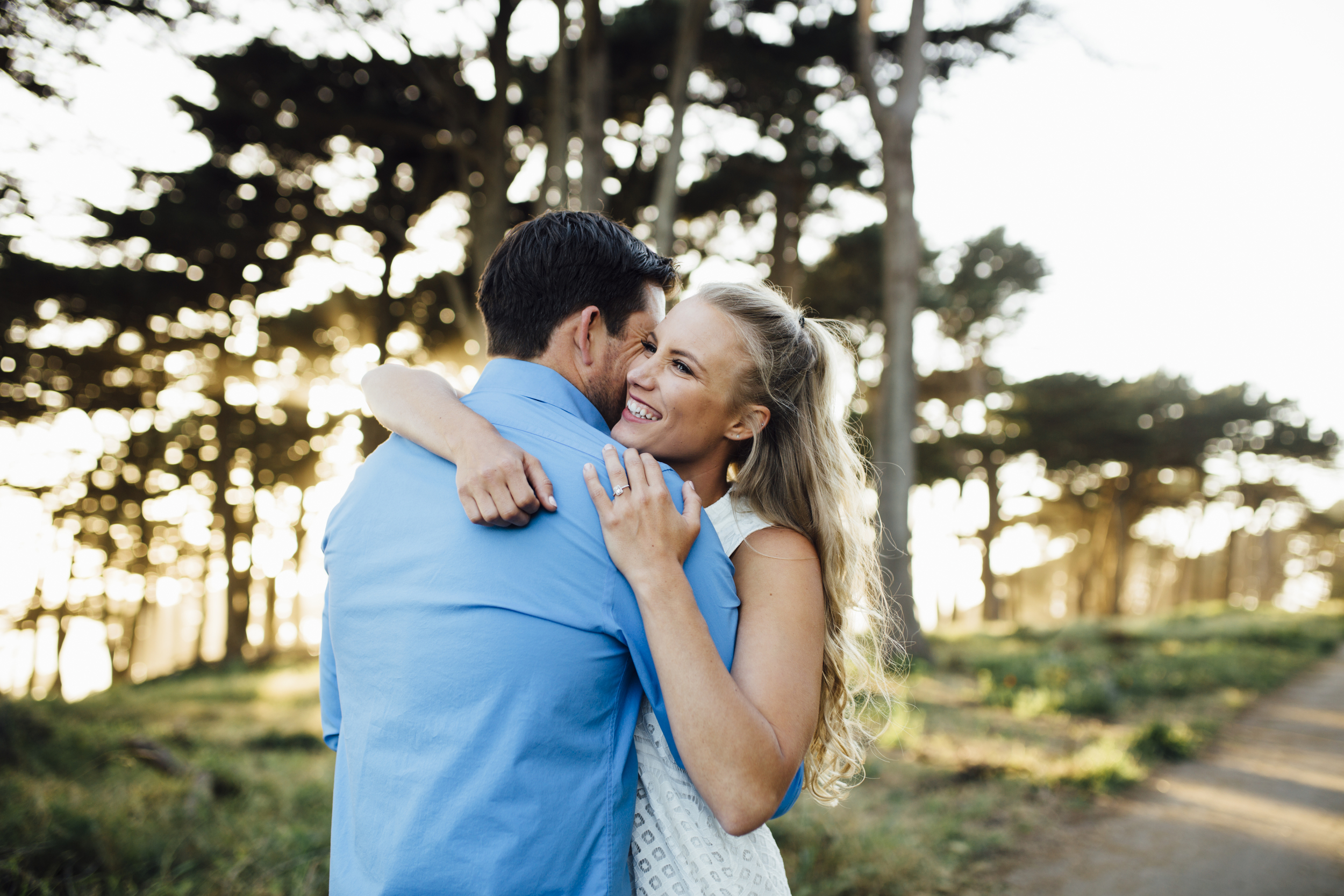 Nataly Zigdon Photography | San Francisco Engagement Photographer | Lands End Shoot