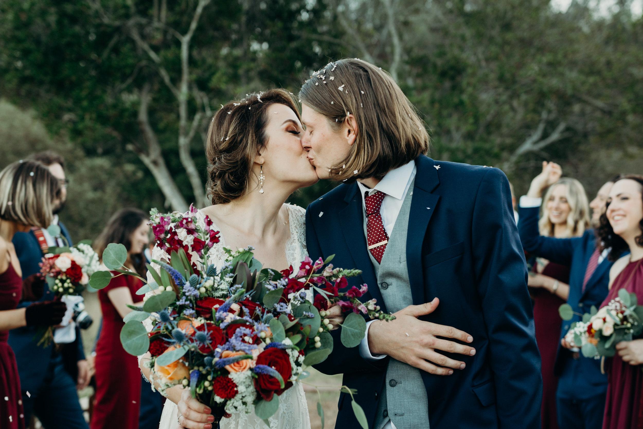 CHEYANNE & DAVID // BACKYARD WEDDING