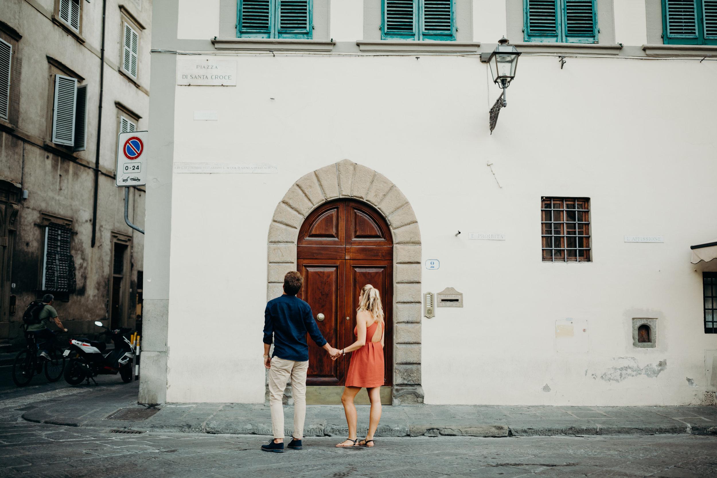 OLGA & TOMMASO // FLORENCE LOVERS' SESSION