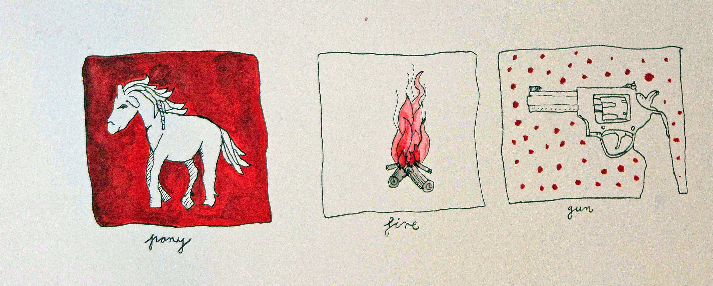 Triptychon 1 (Sold)