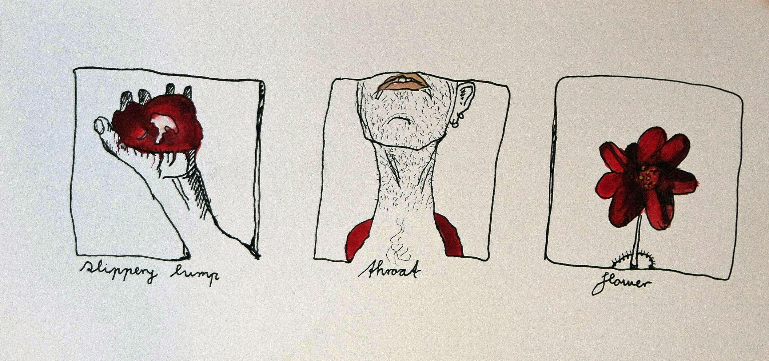 Triptychon 3 (Sold)
