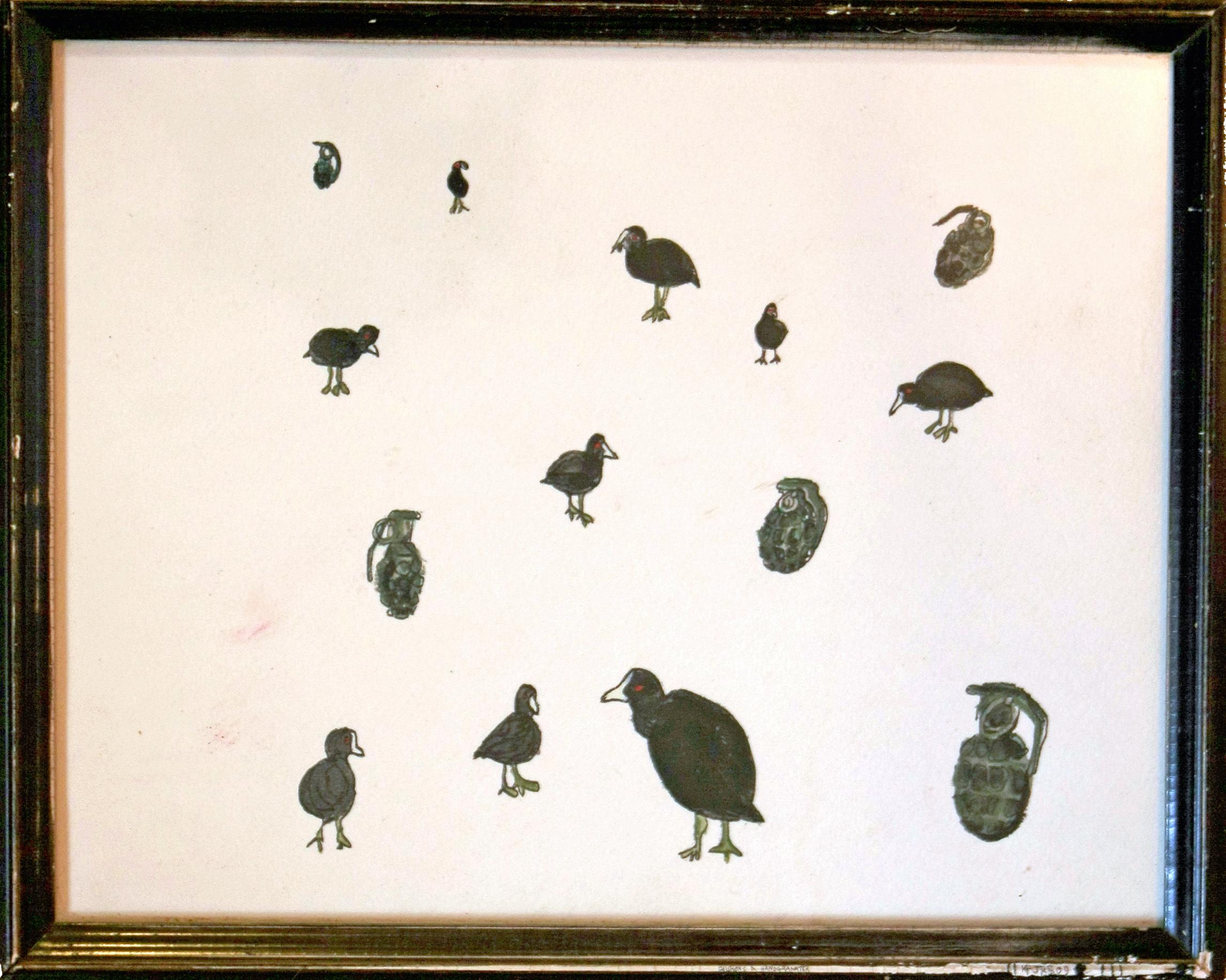 Blishøns og håndgranater (Sold)