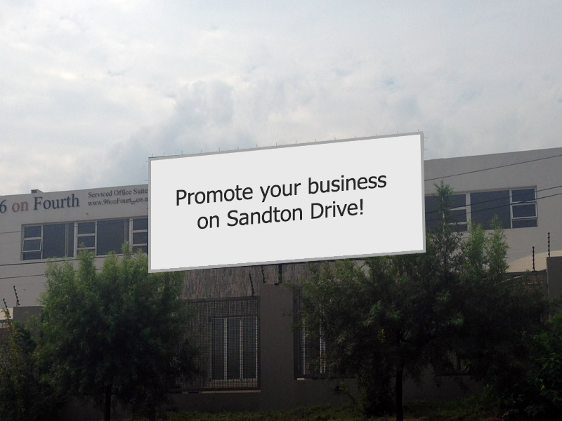 Serviced offices sandton - advertising space
