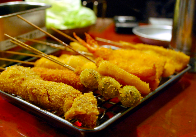 Kushikatsu - Deep-fried skewers