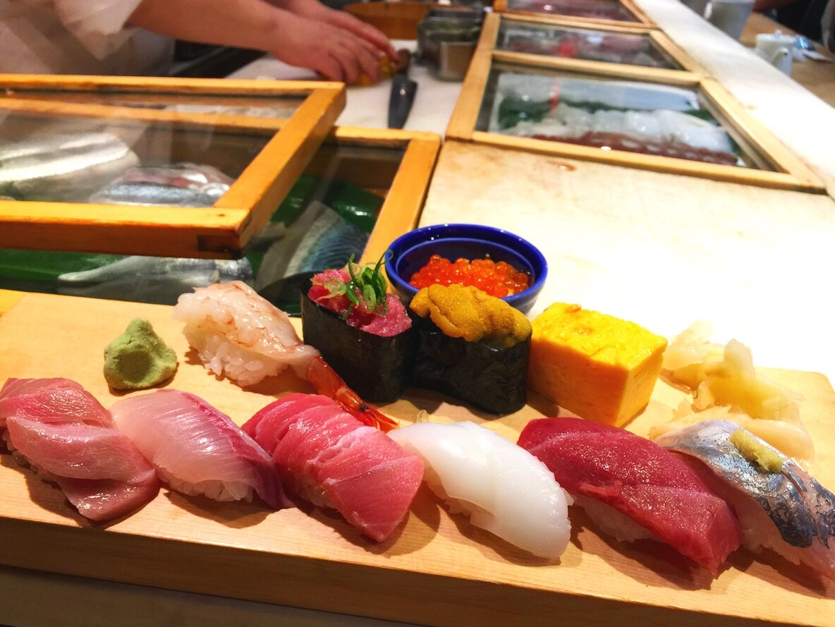 Sushi for Breakfast - Enjoy amazing sushi at only 10 seat counter