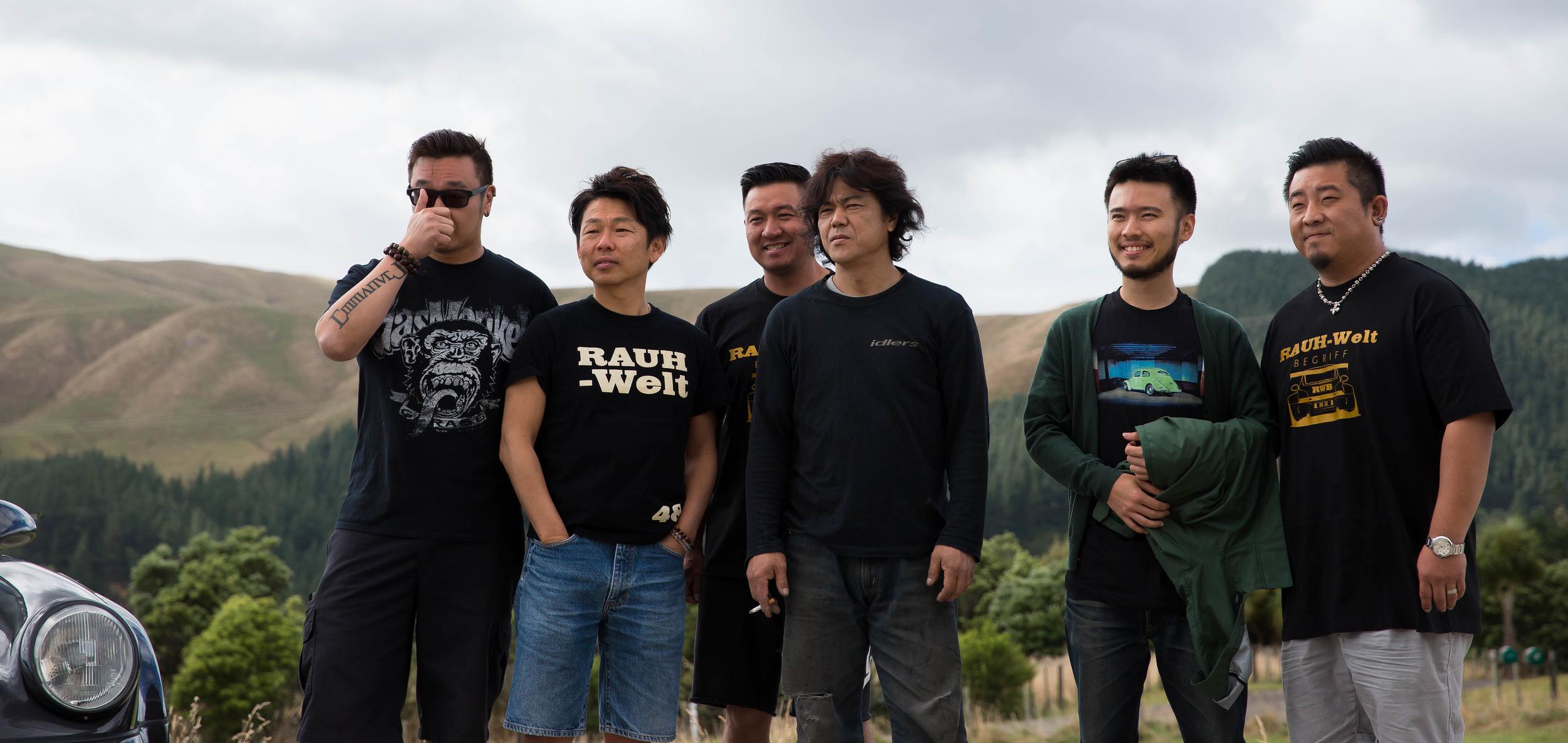 Christian Coujin, Ichiraku Toshiya, Anthony Wong, Akira Nakai, Chern Wong, and Nan Su.