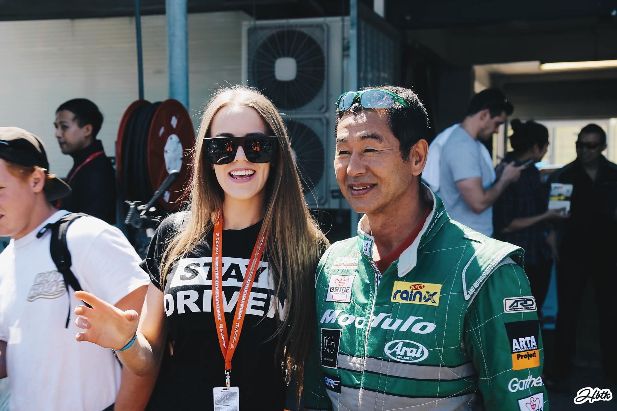 With the Drift King!Photo by HBTK.