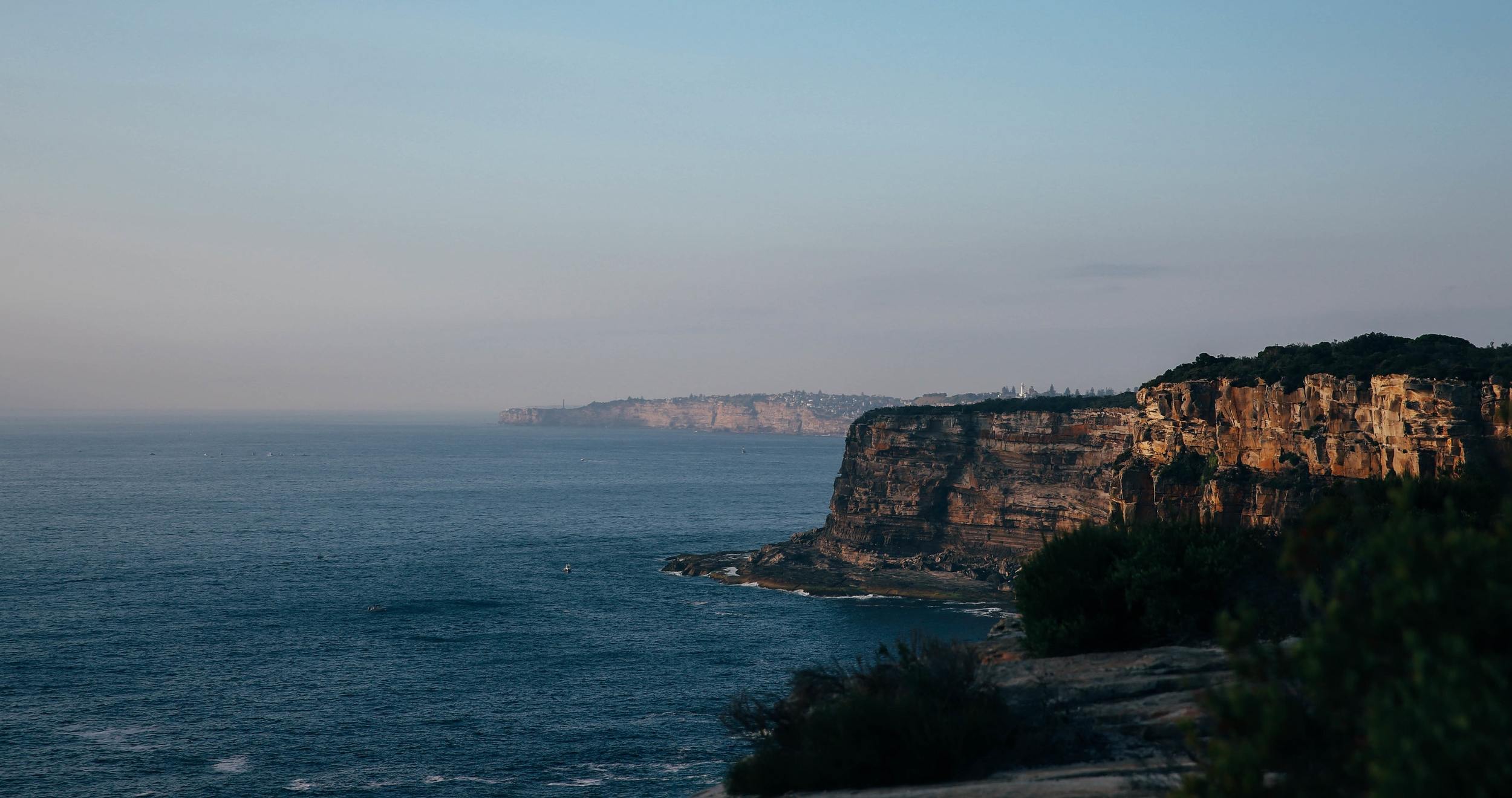 Morning escape at North Head, Manly - Australia.