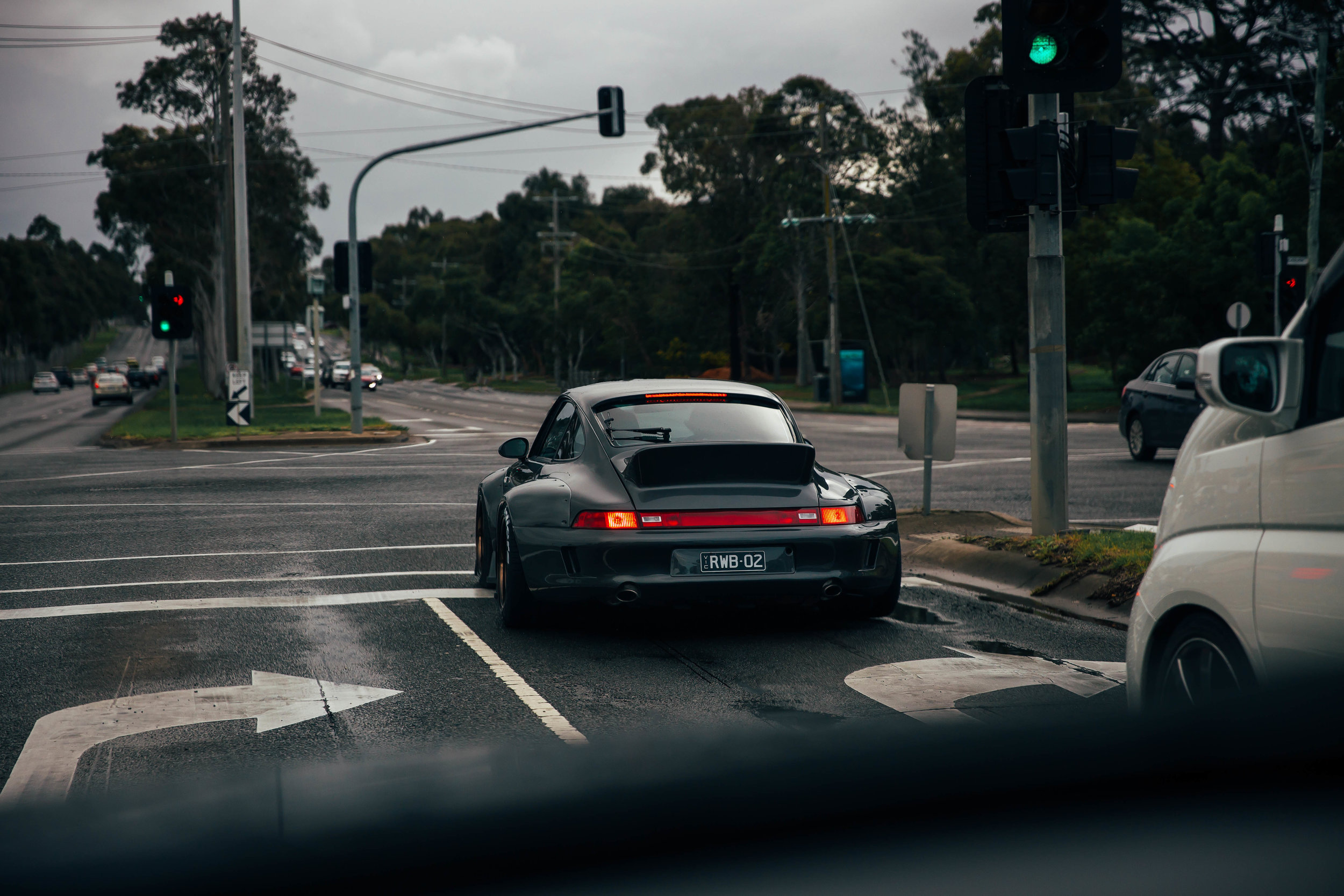 Following 'Chigiri'the second RWB in Australia after the build was complete in Melbourne. The amount of looks we got was insane, and I got to go for a drive in it shortly after this was taken.