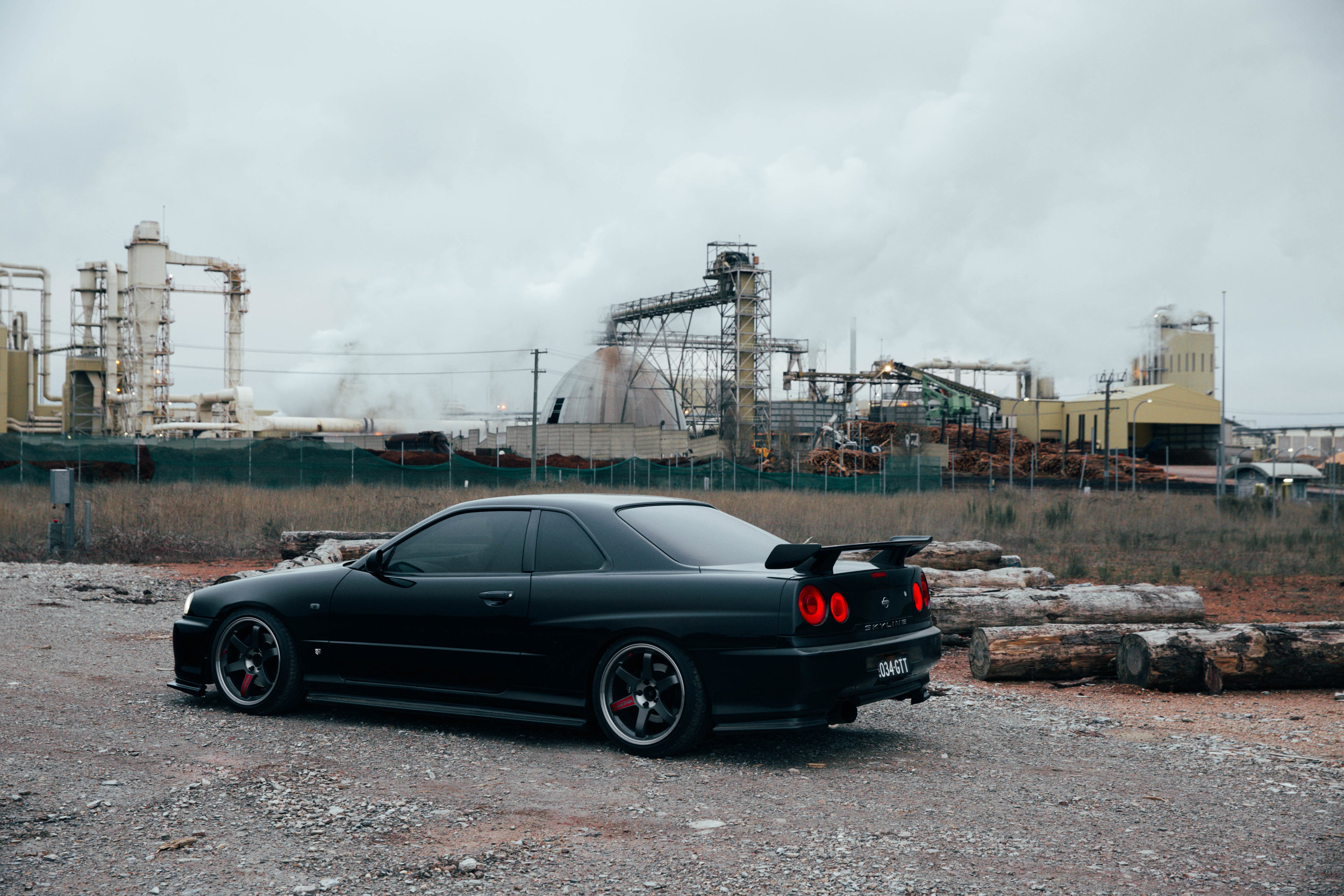 I love how raw my car looks,. Huge sucker for industrial parks!
