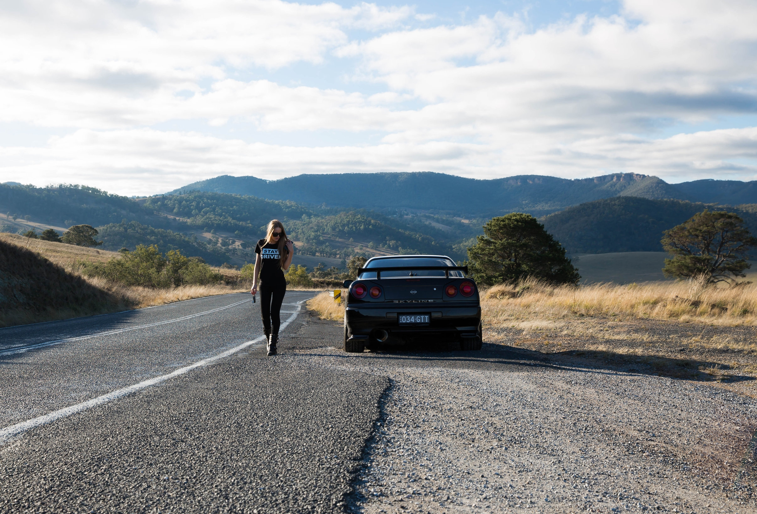 Love this shot which was taken for my  Stay Driven look book  at Oberon, just 3 hours west of Sydney. It was captured by Haylee and edited by me.