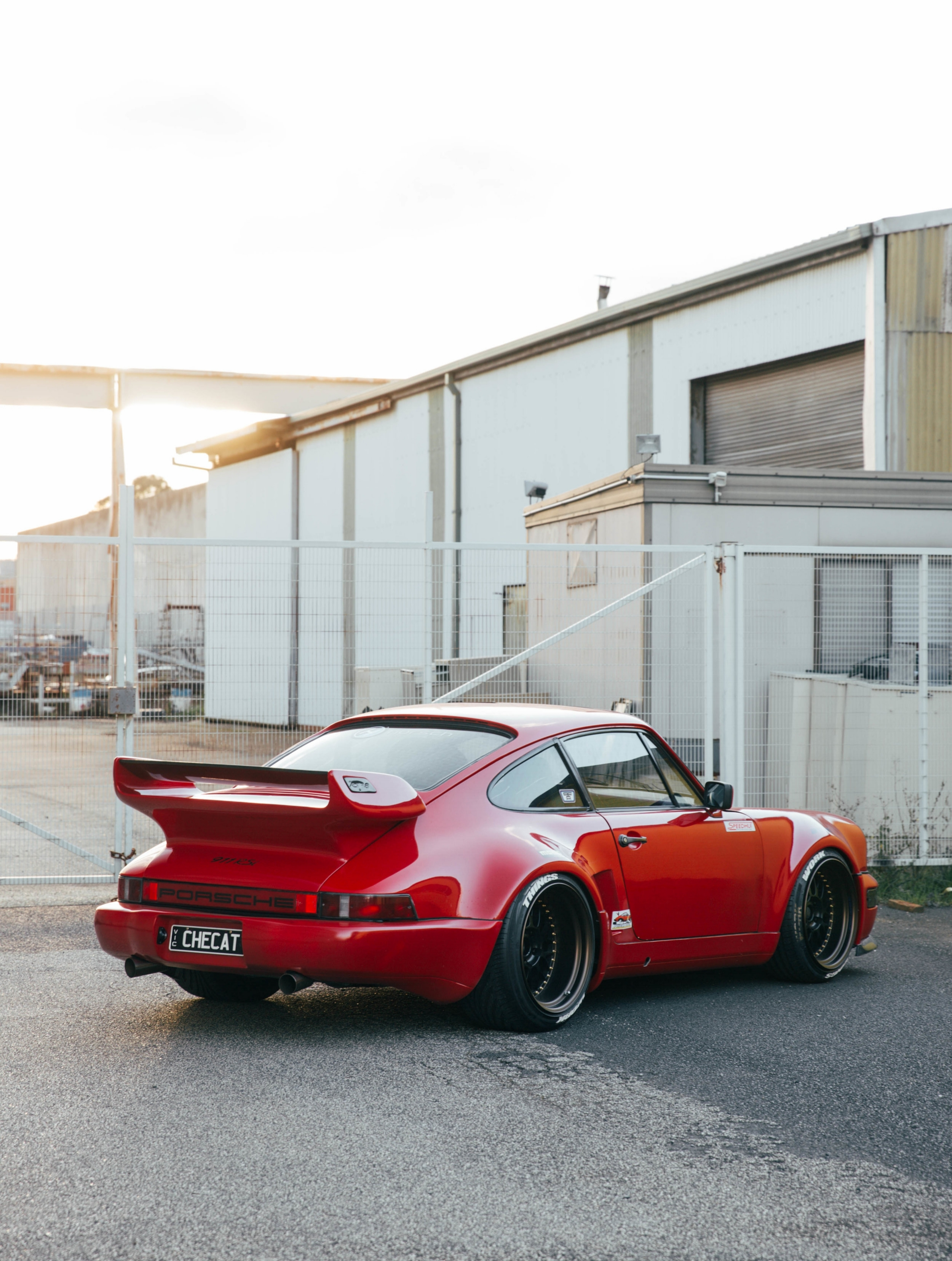 This  911 RSI  turned up during the RWB build in Melbourne, and I instantly fell in love with it!
