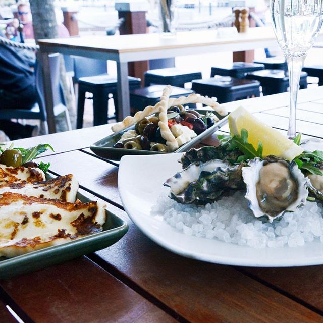 It's a Good Friday by the waterfront - and we are open. How's your Good Friday feast going? 🍽🍾 #waterfrontgrill