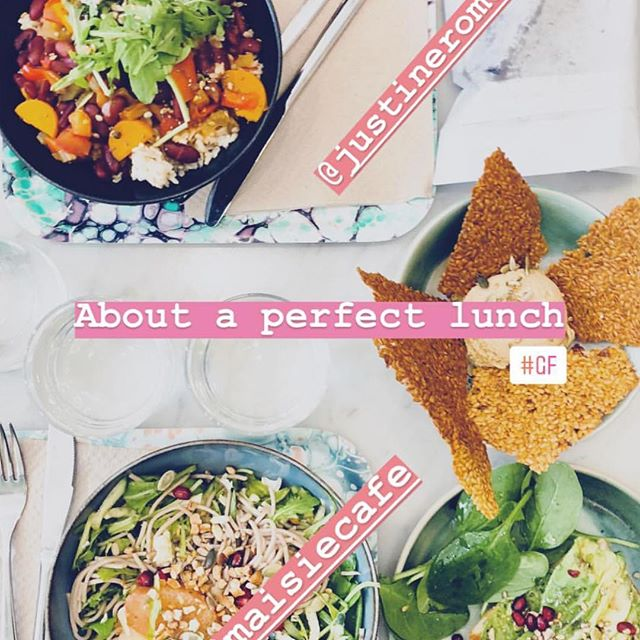 WE'RE OPEN TODAY !  @maisiecafe vous attend  ce lundi de 9h à 18h 🌴👍🏻 Hi guys our plant based monday menu is up today as usual ! We can't wait to see y 🧜🏻‍♀️ merci 📷 @yaelabrot yr the best ⭐️😍 #parisvegan  #maisiecafe  #plantprotein  #plantbased