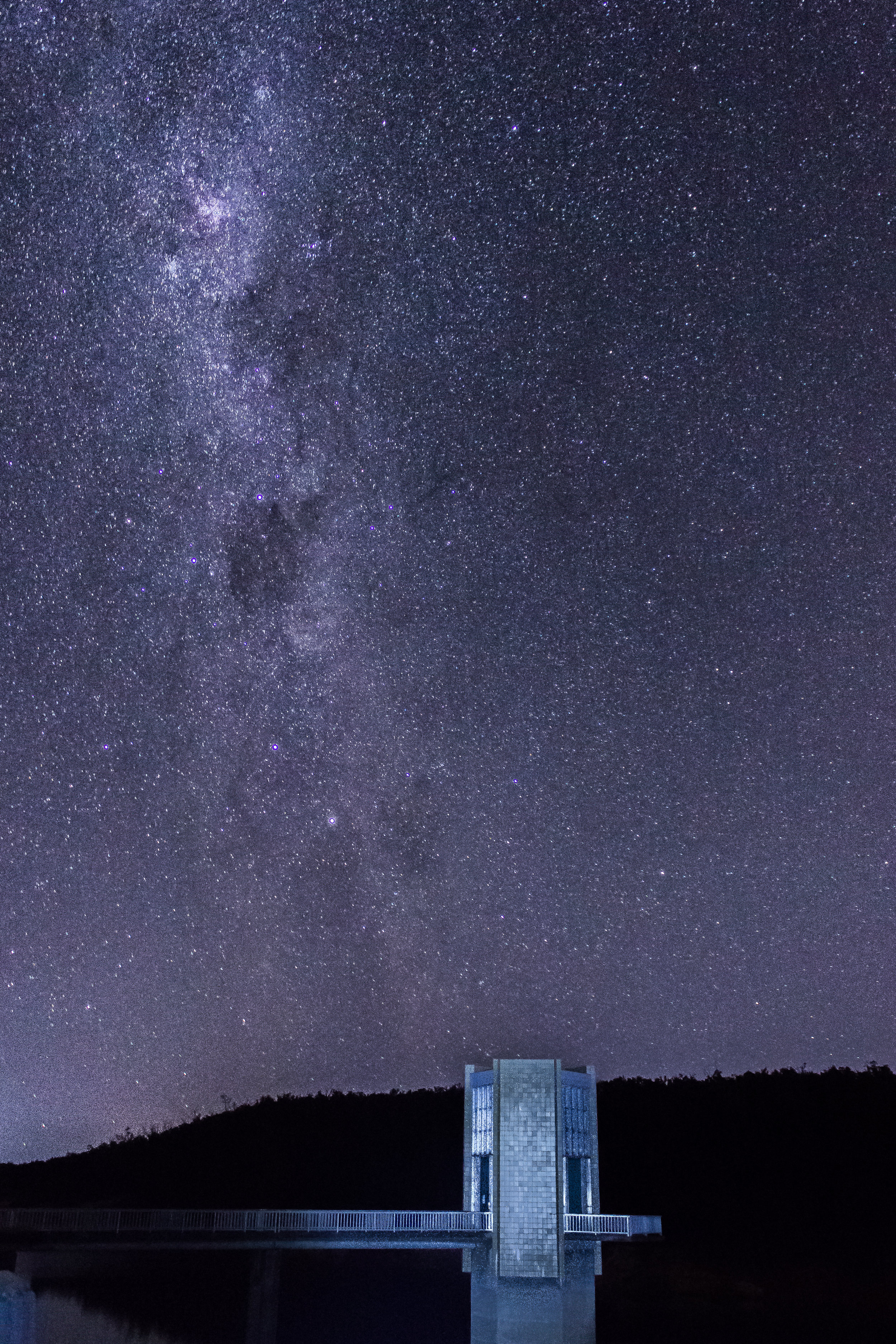 The Serpentine Dam pump house in Western Australia