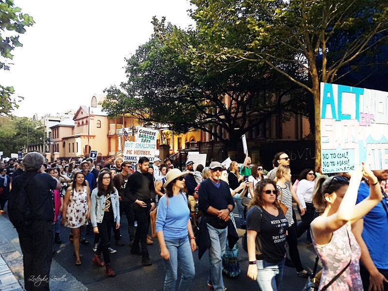This is a diverse crowd. March for Science Sydney. Photo courtesy Zuleyka Zevallos.