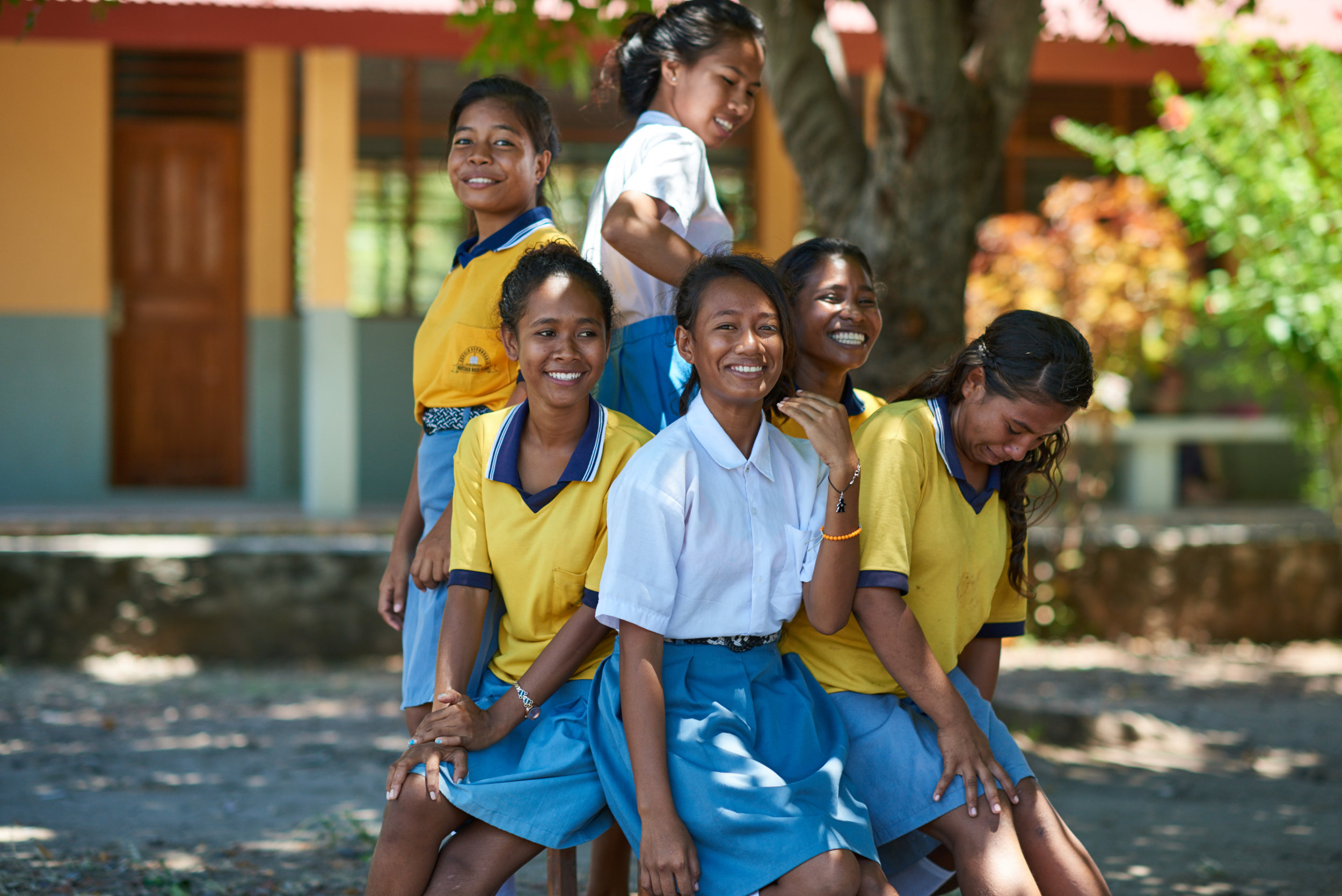 Investing in women and girls with the overseas aid budget leverages impact, but overall cuts to Australia's aid budget means many won't have access to programs and services.  Photo credit: The Oaktree Foundation .