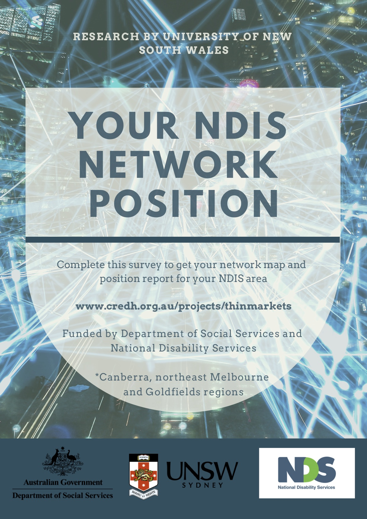 In order to succeed, the NDIS needs accurate knowledge about local support services. Providers can help out by filling a short survey.