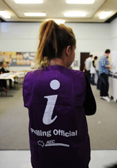 Looking for information on the election? Look no further: NFAW has you covered.  Photo credit: Australian Electoral Commission.