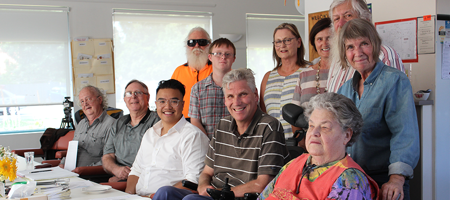 Political representation is essential to get the policies right - a  critical advocacy point for the Royal Commission into Disability  but also true more generally. Pictured is the  Disability Advisory Committee for the City of Yarr a.