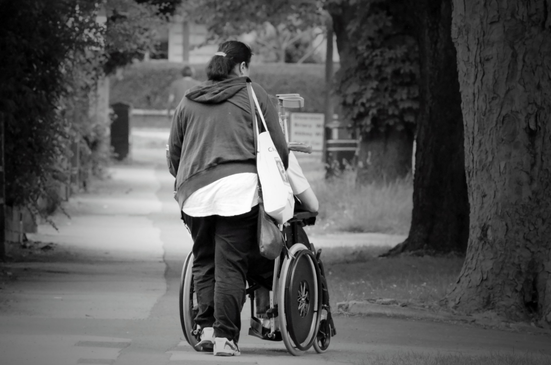 Informal caring has profound and long-lasting consequences on employment and financial security, particularly for women.  Photo credit: Public Domain Pictures .