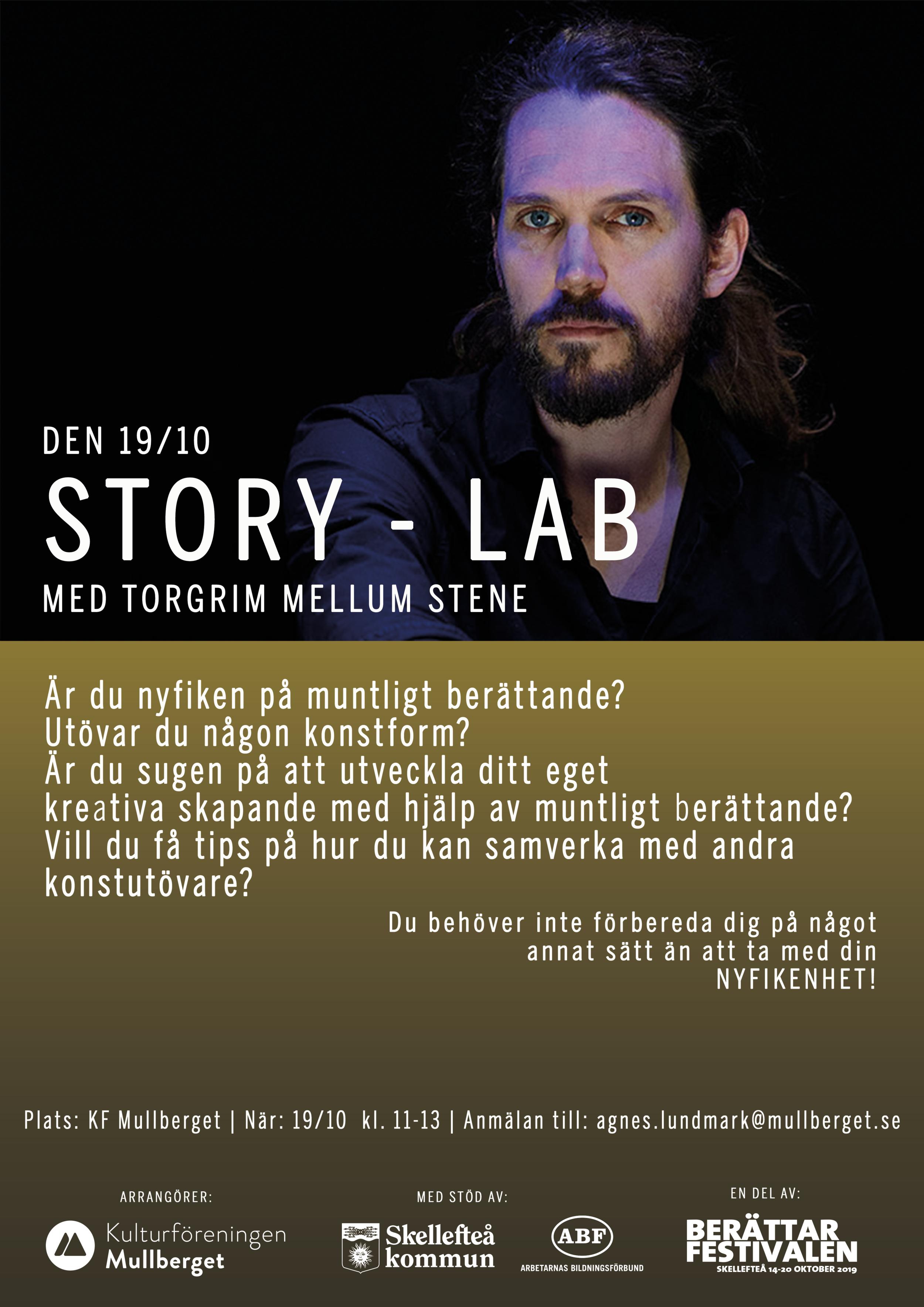 """Affisch för """"Story - LAB"""""""