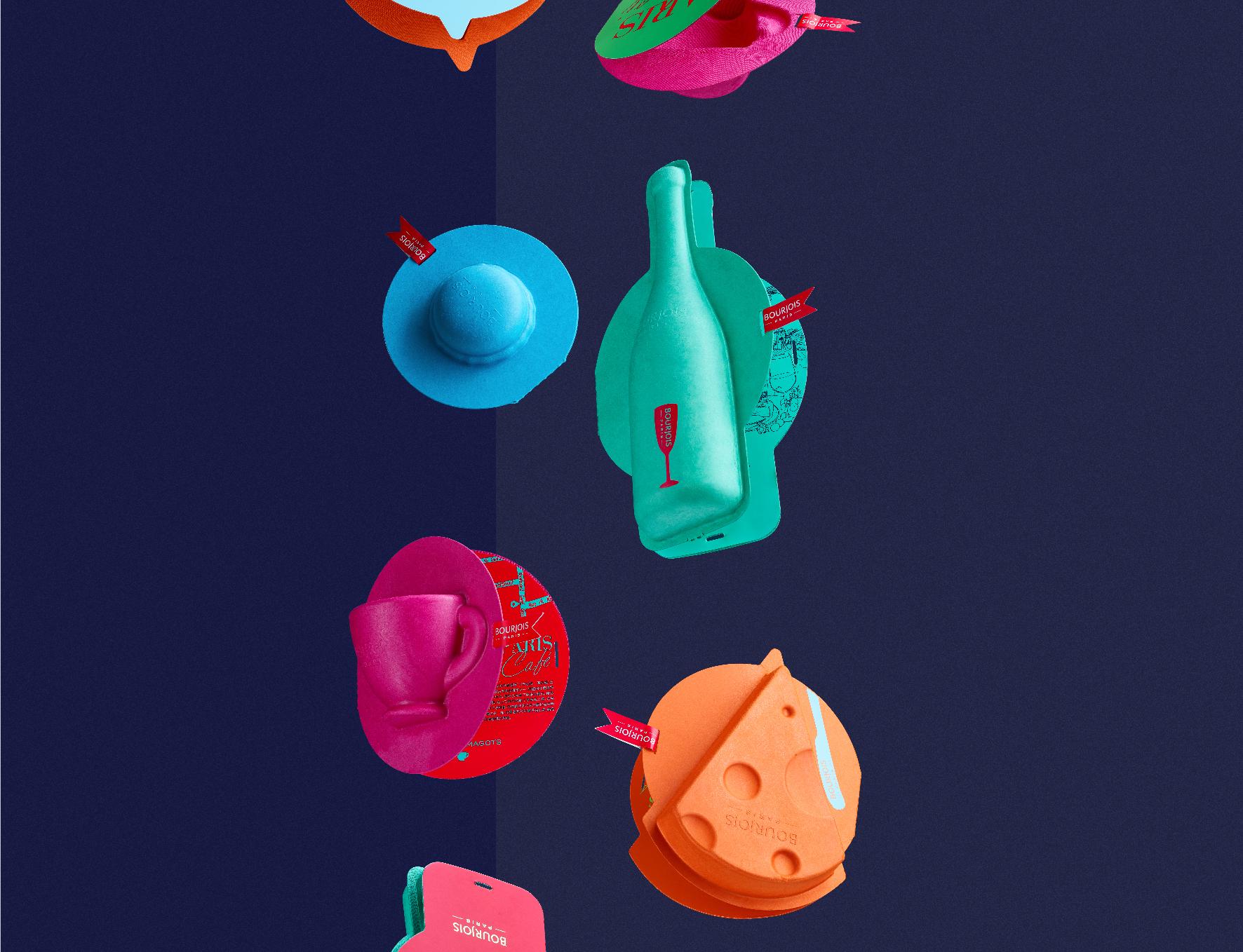 Bon Appetit, Paris Client: BOURJOIS Design Company: NX CREATIVE Art Director / Designer: Guozheng Jiang / Dan Chen