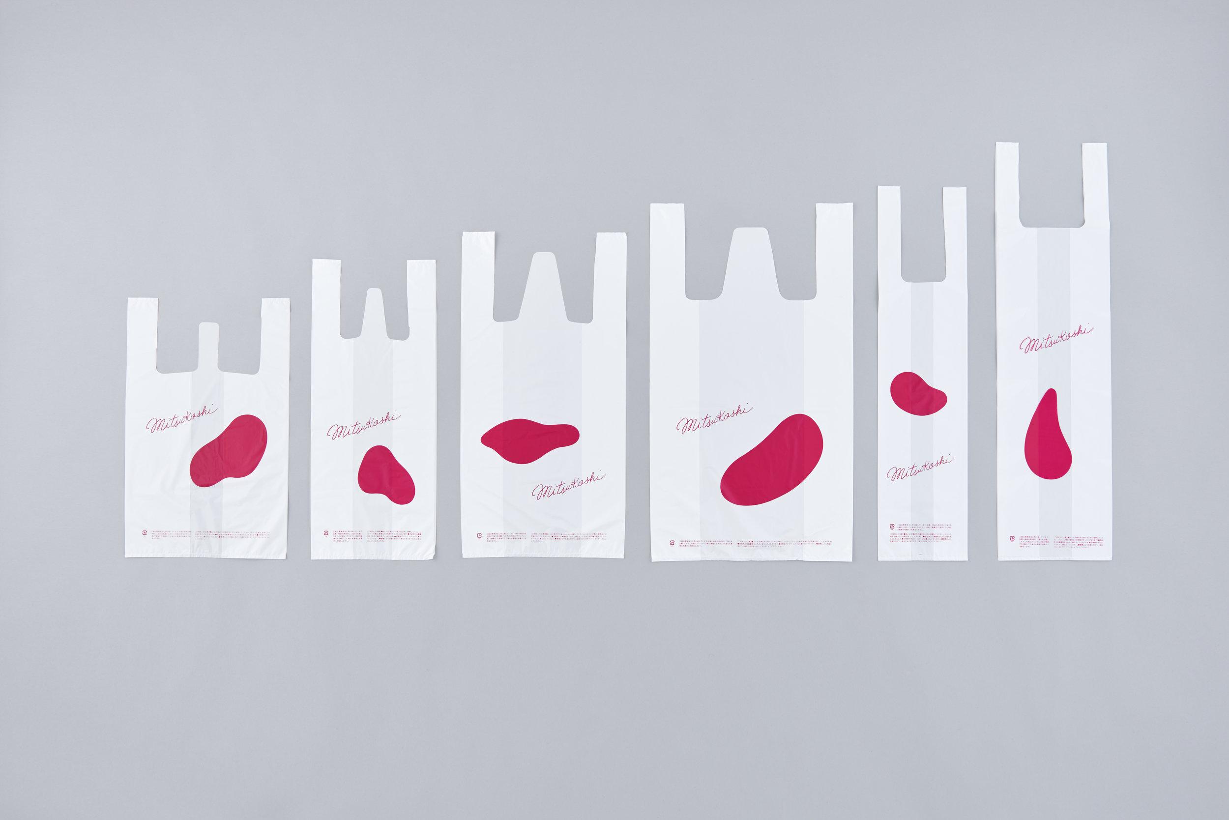 MITSUKOSHI HANA-HIRAKU Client: Isetan Mitsukoshi Ltd. Design Company: Ken Okamoto Design Office inc. Art Director / Designer: Ken Okamoto Art Work: Genichiro Inokuma Calligraphy: Takashi Yanase