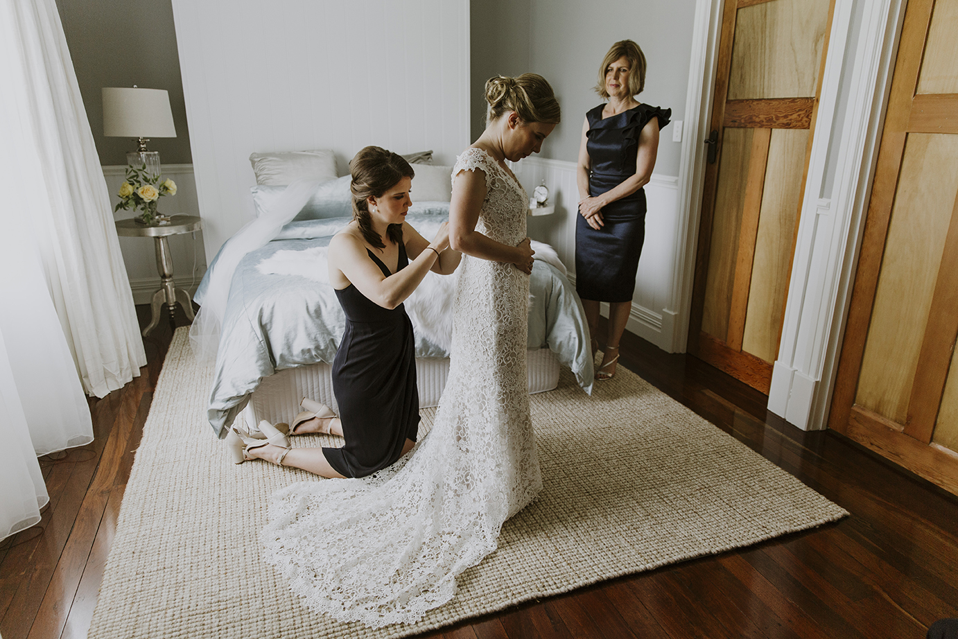 Wedding Photography bride prep