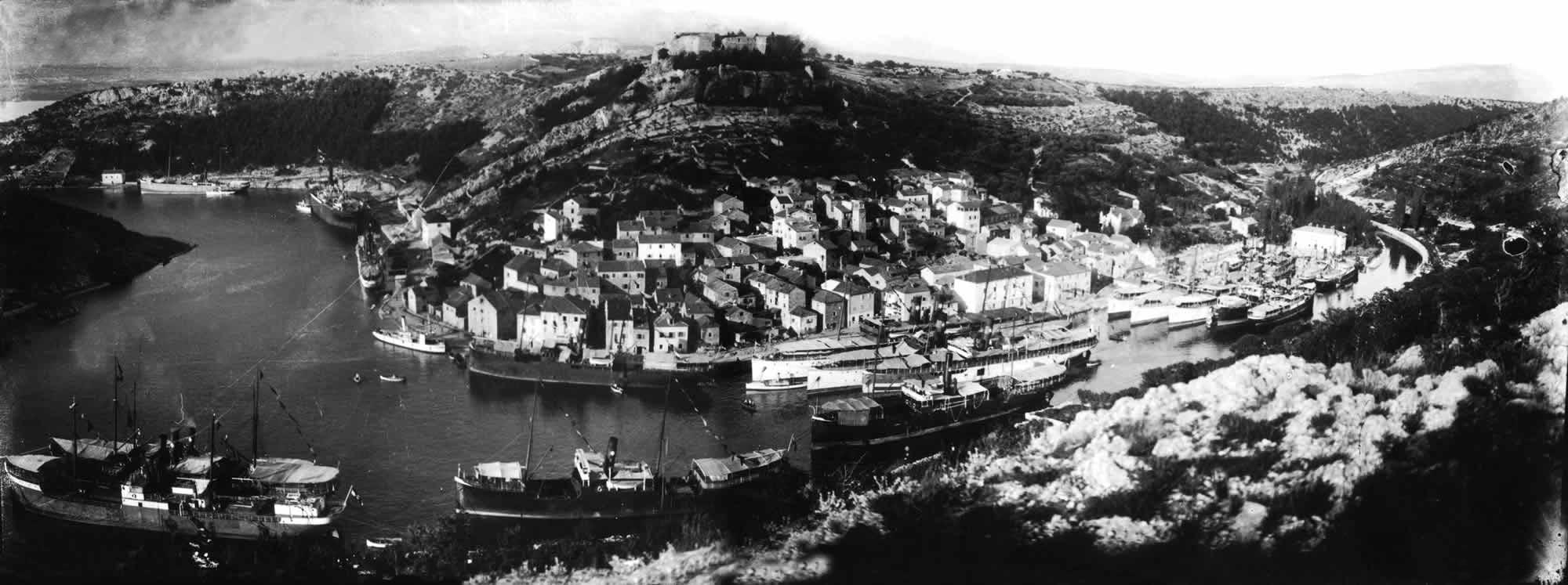 Novigrad in 1915.