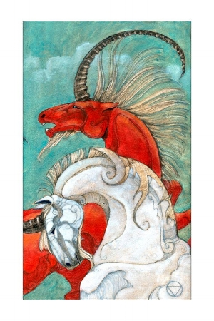 The Mary El Tarot by Marie White