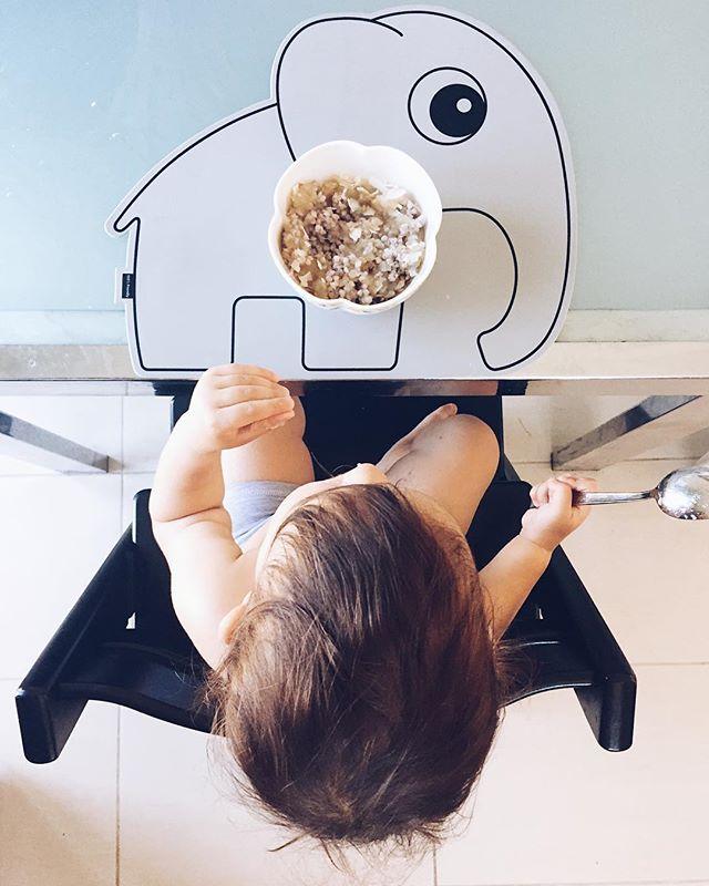 Bon appétit, little one 🥄
