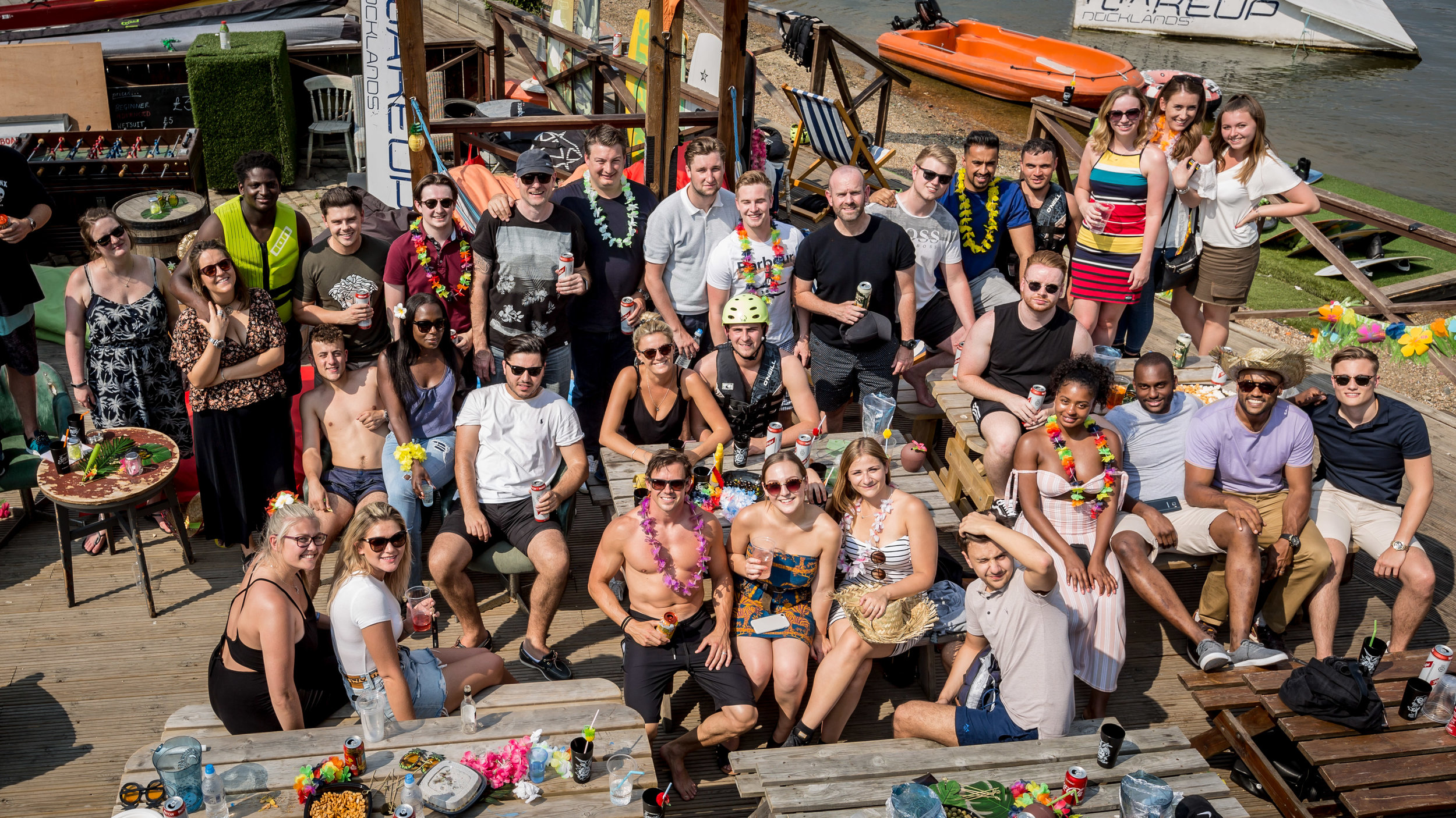 "E-Synergy Solutions Summer Party: ""I cannot speak highly enough of Jon and the team at WUD. The activities, catering and staff were all amazing. We loved it so much we have booked our 2018 team bonding day at WUD again. A hidden gem in the metropolis of London""  Patrick Crompton Co-founder and Director eSynergy Solutions"