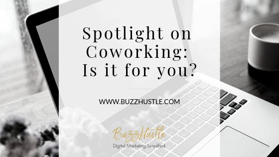 Spotlight on Coworking: Is it for you? - BLOG Featured Image - BuzzHustle Digital Marketing