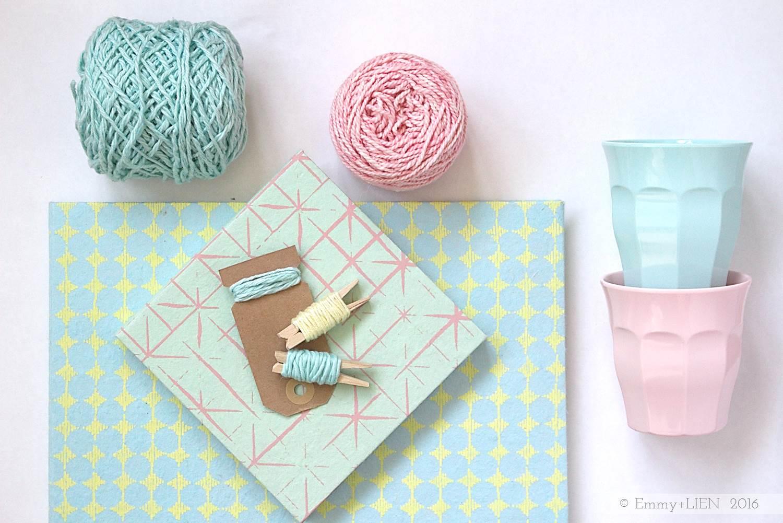 Rose Quartz + Serenity: a crochet designer's take