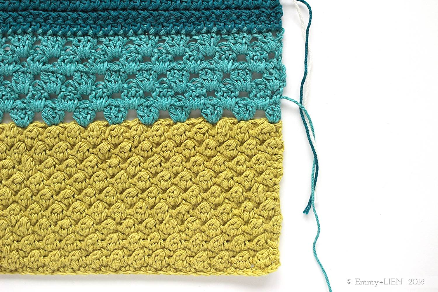 Part of the Dally Dahlia Blanket. Link to bobble stitch tutorial in post.