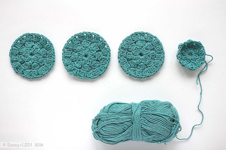 Dally Dahlia | Crochet pattern by Eline Alcocer at Emmy + LIEN