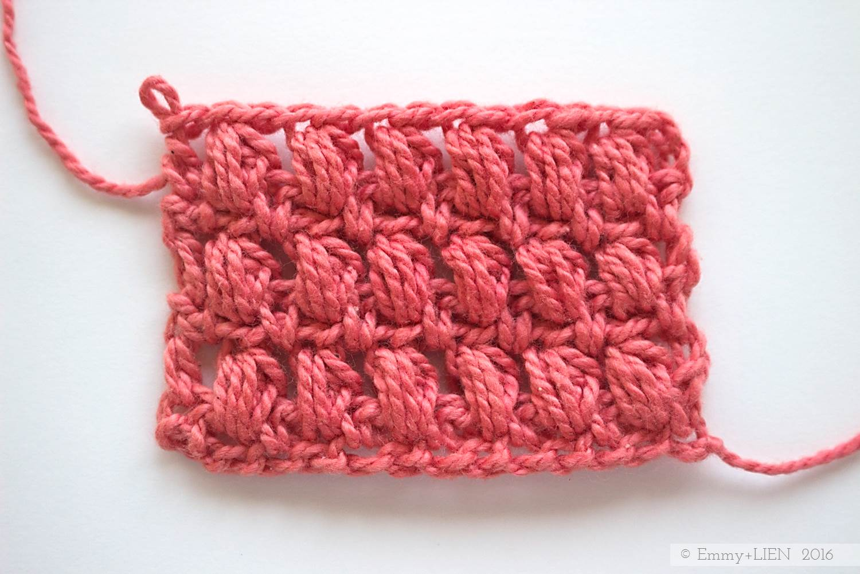Stacked puff stitch tutorial