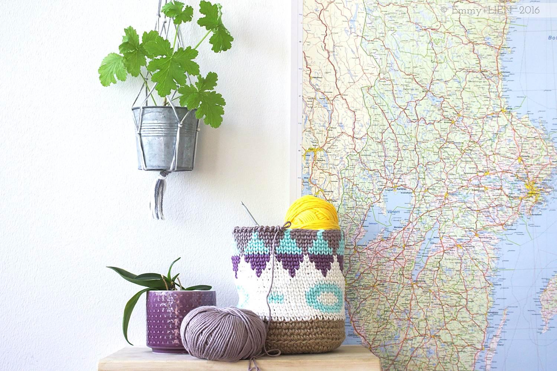 Indoor plant decoration idea