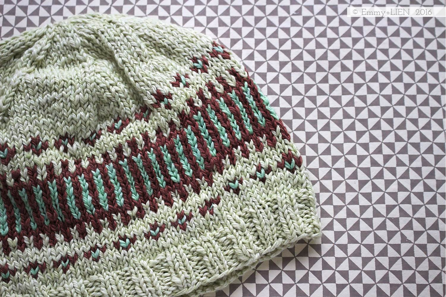 Clayoquot Toque   knitted by Emmy + LIEN, pattern by Tin Can Knits
