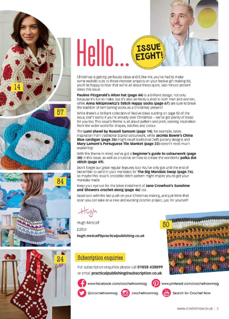 Crochet Now issue 8