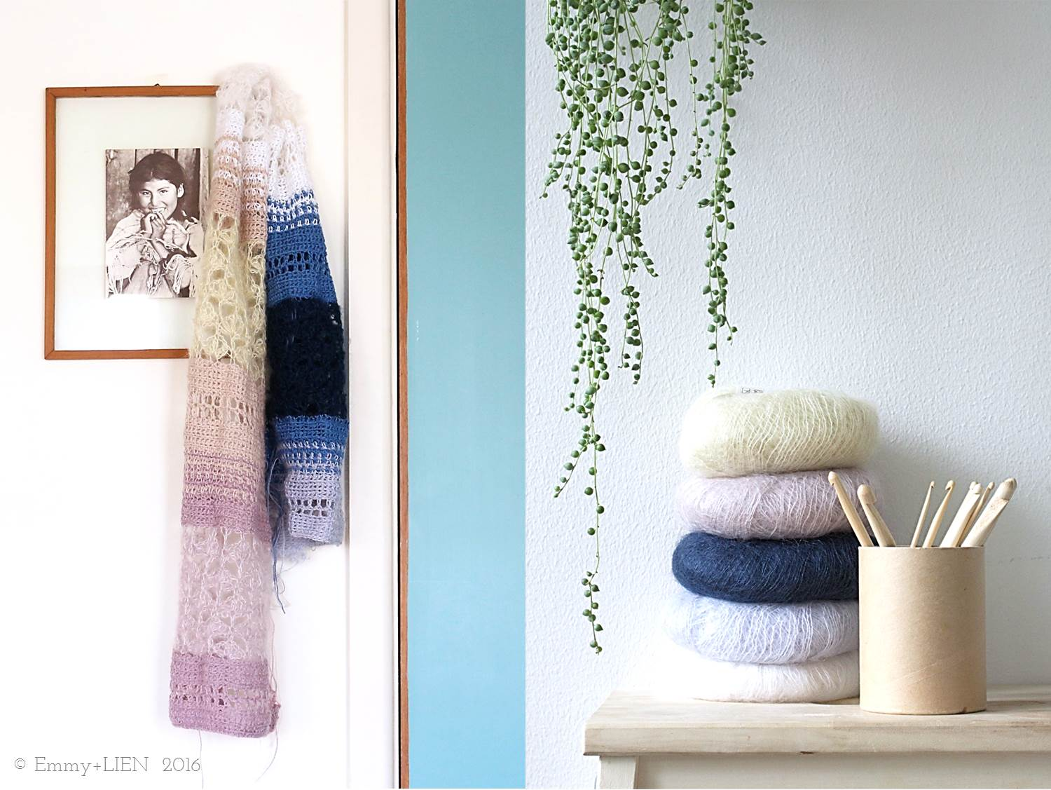 Floss Scarf by Eline Alcocer for Crochet Now issue 9